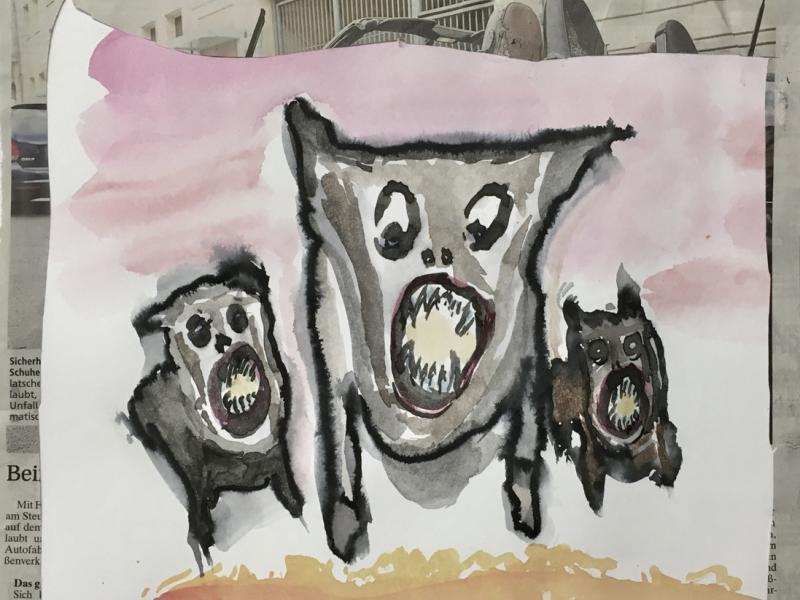 3 Sauhunde