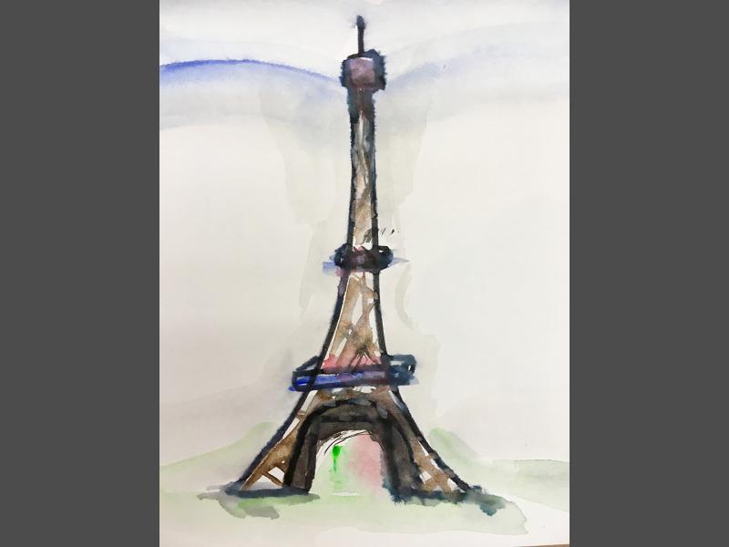 Eiffelturm pur
