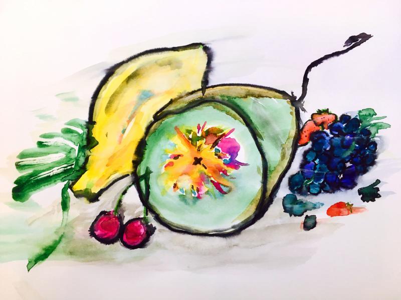 Exotische Frucht