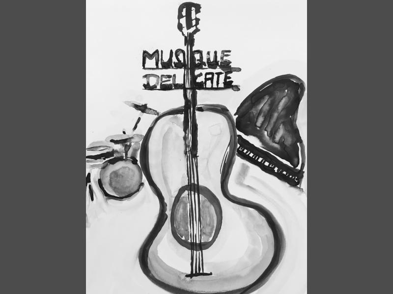 Bild für Musique Dèlicate Plakat