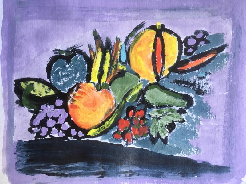 Obst Violett