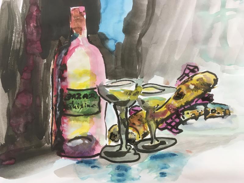 Wein & Baguette
