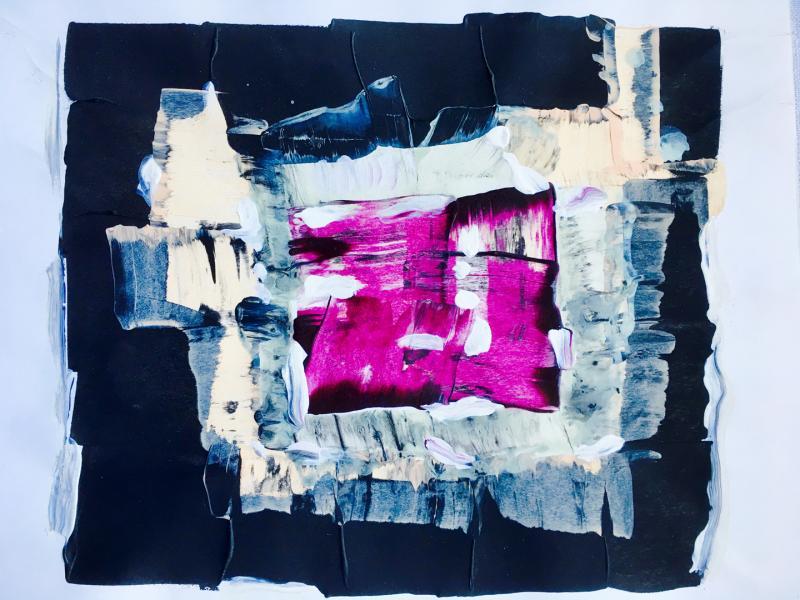 Abstrakt Violett